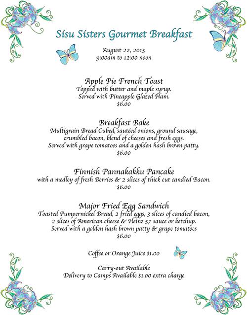 Sisu Sisters Gourmet Breakfast2015Ver2b