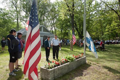 Flag Ceremony 2009
