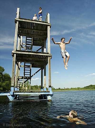 Finn Camp Dive Tower
