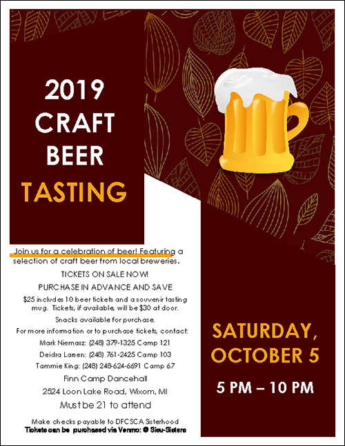 Craft Beer Tasting Flyer