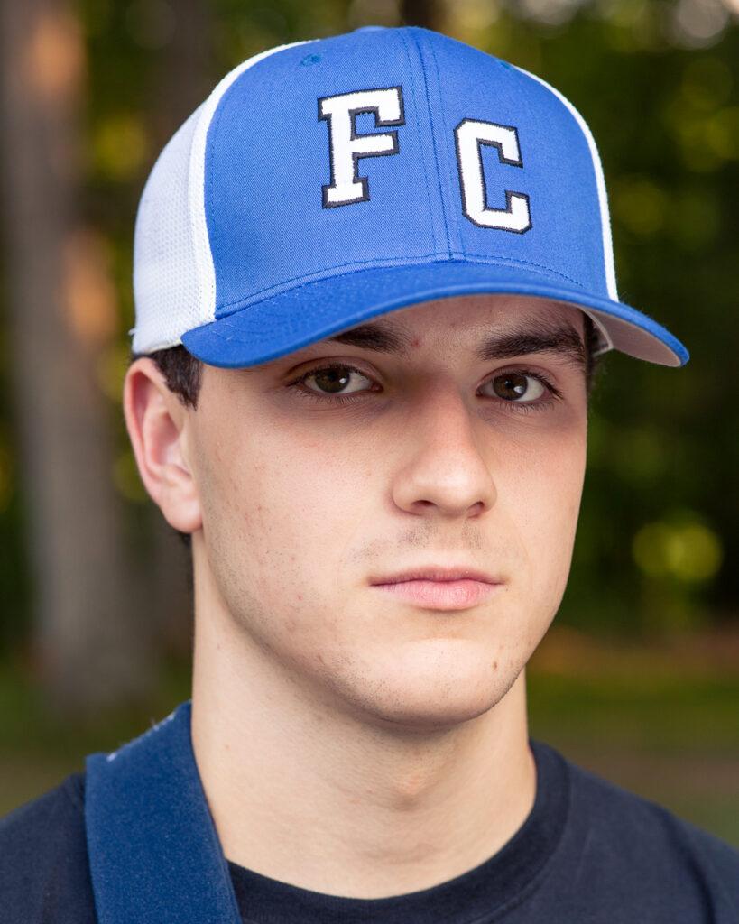 Finn Camp ball cap. (front)