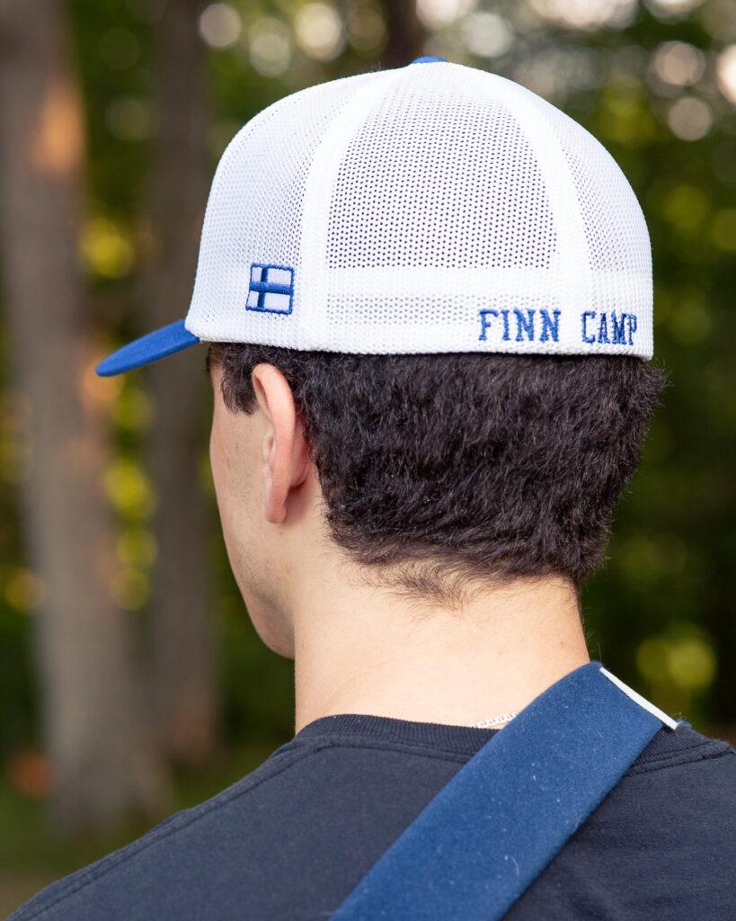 Finn Camp ball cap. (back)