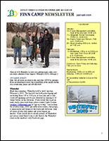 Finn Camp Newsletter